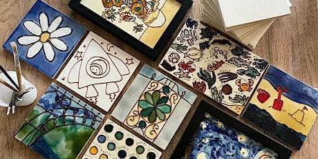 Summer Tile Decorating Workshops tickets