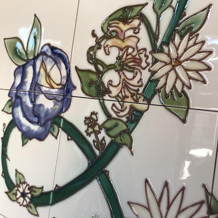 Summer Tile Decorating Workshops image