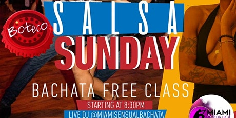 LATIN SUNDAYS IN BOTECO! FREE CLASS AND SOCIAL tickets