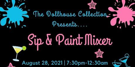 Sip & Paint Mixer tickets