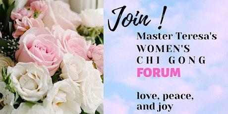 Master Teresa's Forum  for Women's Qi Gong tickets