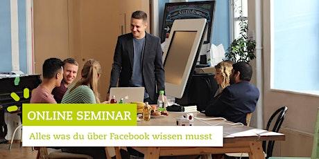 Facebook Marketing Online Seminar - Alles was du über Facebook wissen musst tickets