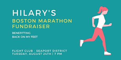 Hilary's Boston Marathon Fundraiser at Flight Club tickets