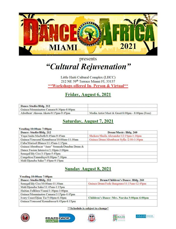 DanceAfrica Miami 2021 image