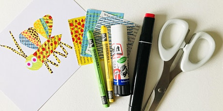 Create a Bug - Collage and Mixed Media - Art for Well-being workshop tickets