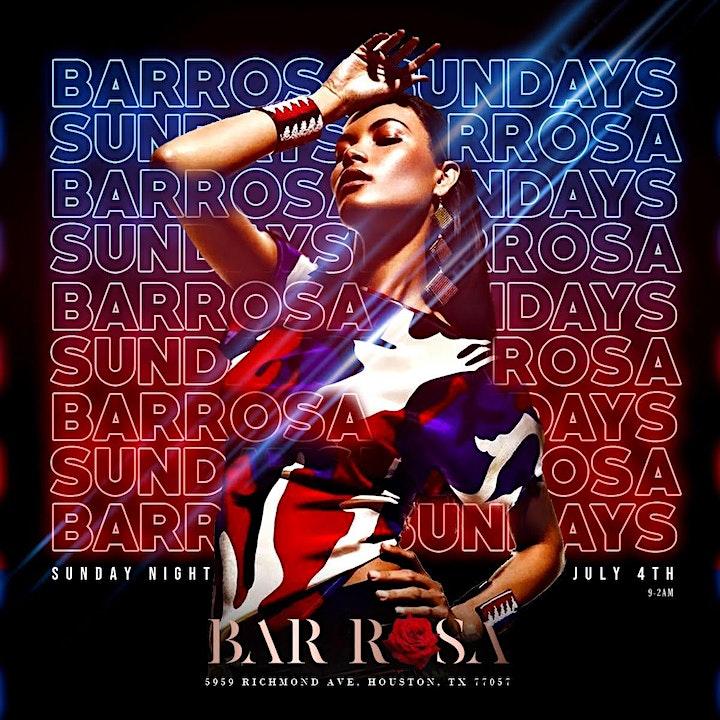 Bar Rosa Sundays (9-2am) FREE ALL NIGHT RSVP image