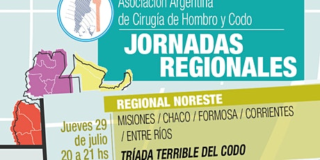 JORNADA REGIONAL NORESTE de la Asociación Argentina de Hombro y Codo entradas