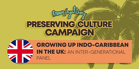 Intergenerational Panel with the UK Indo-Caribbean Community tickets