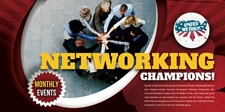 United We Rock! Networking Champions Event! tickets