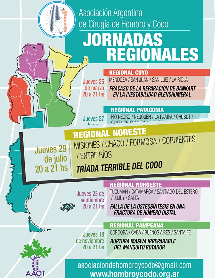 Imagen de JORNADA REGIONAL NORESTE de la Asociación Argentina de Hombro y Codo