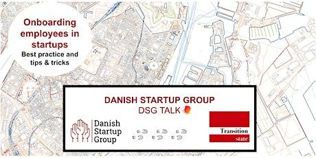DSG Talk: Onboarding Employees in Startups! tickets