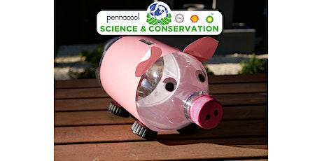 Science Soda Bottle Piggy Bank Std 4-5 biglietti