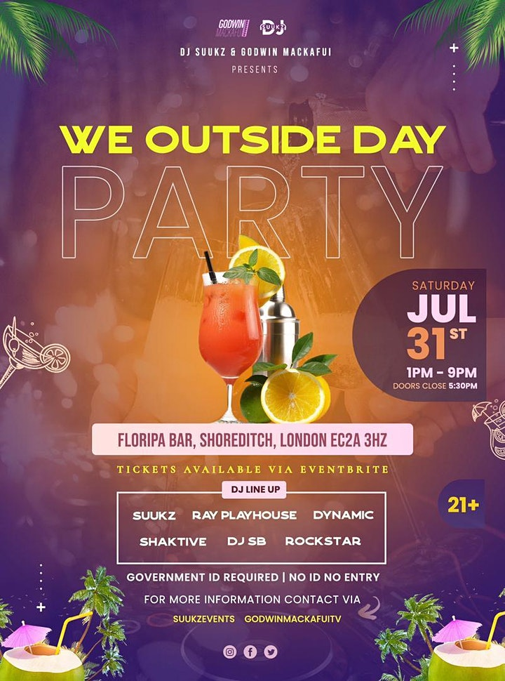 WE OUTSIDE DAY PARTY image