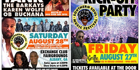 4th Annual Southern Soul Music Festival tickets
