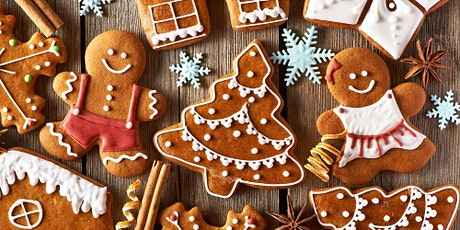 Zoom Cooking Social: Anytime Gingerbread tickets