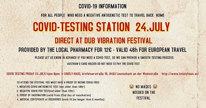 DUB VIBRATION Festival - Roots, Reggae & Dub image