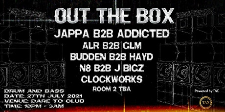 Out The Box tickets