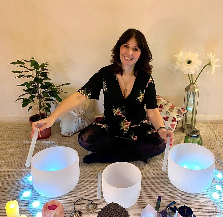 1 Hour - Crystal Bowl Sound Bath Healing Meditation image