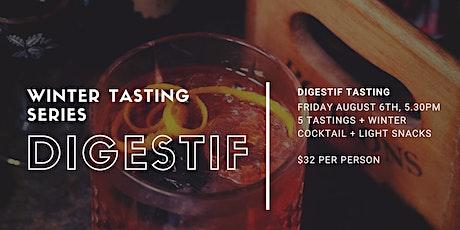 Winter Tasting Series - Digestifs tickets