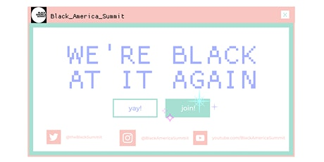 Black America Summit II tickets