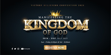 Victory Believers Convention 2021 tickets
