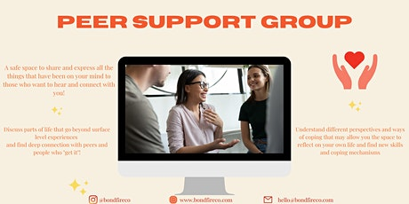Monthly Peer Support Group tickets