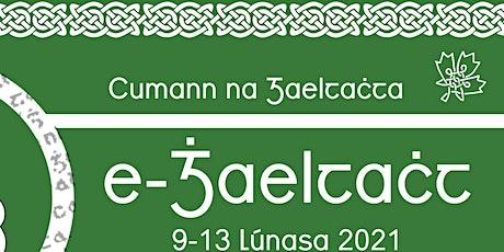 Tumseachtain Samhraidh (ar Líne) 2021//2021 Summer Immersion Week (Online) tickets