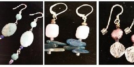 Wire Wrap Earring Basics- Jewelry Class tickets