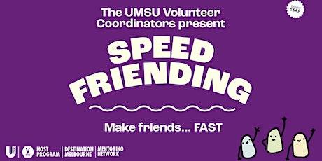 Speed Friending with UMSU Volunteering tickets