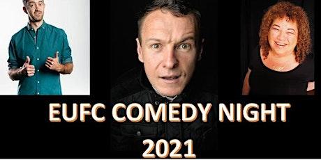 EUFC Comedy Night 2021 tickets