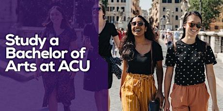 ACU Arts Careers Panel tickets