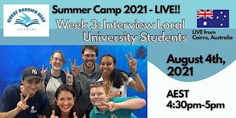 Summer Camp LIVE - Week 3 entradas