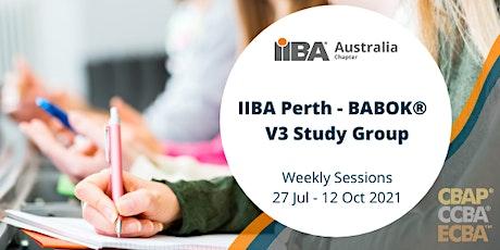 IIBA Perth: BABOK®v3 Study Groups tickets