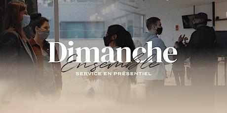 Dimanche ensemble - Inscription requise 12h00 tickets