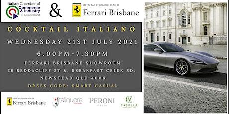 ICCI QLD and Ferrari Cocktail Italiano tickets