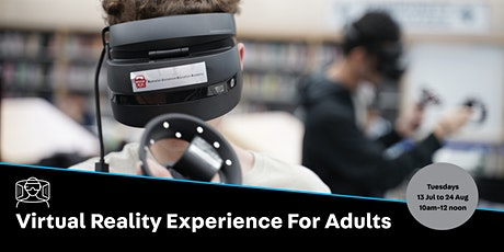 POSTPONED: VR Experience for Adults tickets