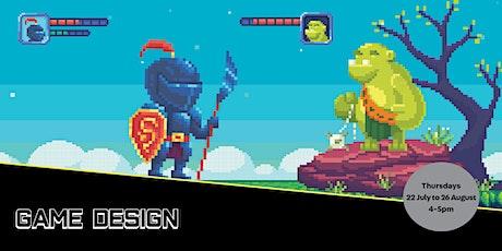 POSTPONED: Game Design tickets