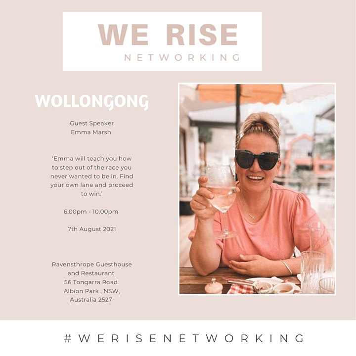 'Women in Business 'Connection Event Wollongong August 2021' image