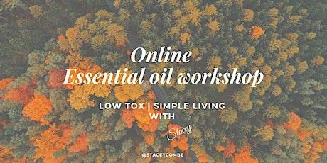Essential Oil Masterclass - online tickets