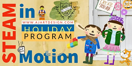 STEAM in Motion Holiday Program tickets