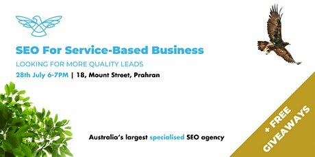 SEO For Service Businesses - Capture High Quality Leads Consistently tickets