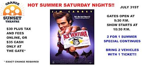 JULY 31st-  Big Screen Saturday Night Classic - Grande Sunset Theatre tickets