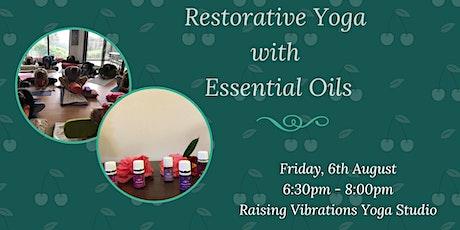 Restorative Yoga with Essential Oils tickets