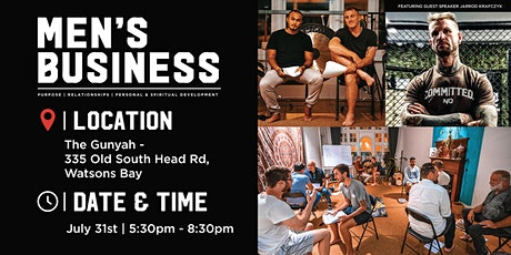 MEN'S BUSINESS Mental Health Event tickets