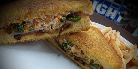 Zoom Cooking Social: Gourmet Jalapeno Popper Grilled Cheese tickets