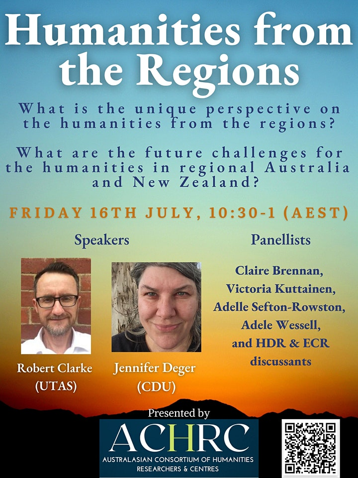 Humanities from the Regions: ACHRC Forum image