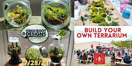 Build a Terrarium at Vibe Garden by Saucy Brew Wor tickets