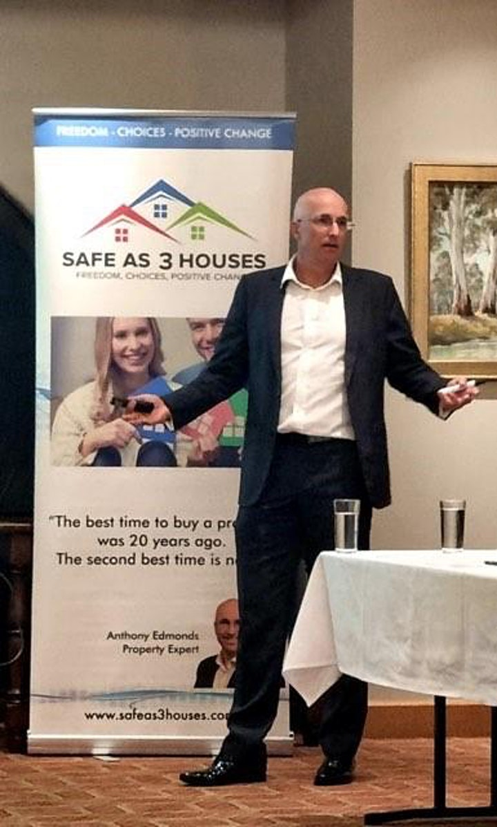 Exclusive Property Update Dinner With Property Expert Anthony Edmonds image