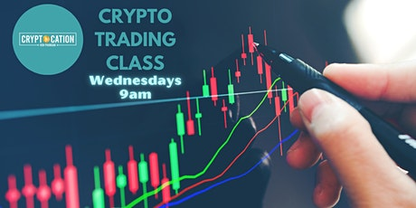 Crypto Day-Trading for beginners *Class 1 tickets