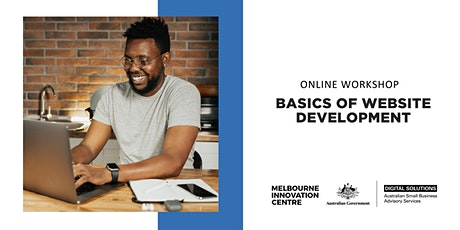 [Online Workshop]: Basics of Website Development tickets